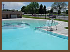 Manti Outdoor Swimming Pool and Slide